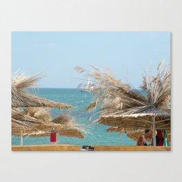 The Black Sea Coast, Varna,Bulgaria, 'Summer 's not over yet' Canvas Print