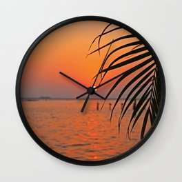 Only a World Apart Wall Clock