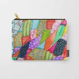 Quilted Like Klimt Carry-All Pouch