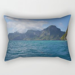 The Storm Approaches in Palawan Rectangular Pillow