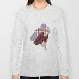 Aph Iceland Illustration Long Sleeve T-shirt