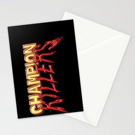 Champion Killers - Logo 1 Stationery Cards