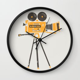 Cine Camera Wall Clock