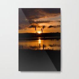 Framed. Metal Print