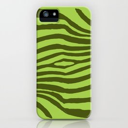 Animal Waves (Green Mood) iPhone Case