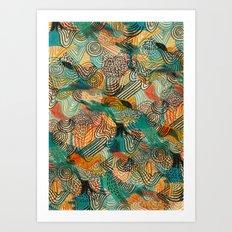 I'm crazy about Estelle Art Print