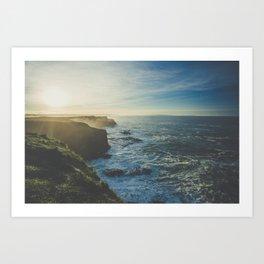 Cliffside Morning Art Print
