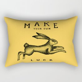 MAKE YOUR OWN LUCK Rectangular Pillow