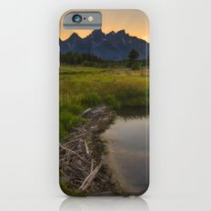 Grant Teton National Park Mountain Sunset Slim Case iPhone 6s