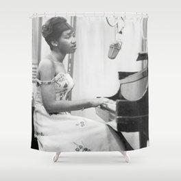 Aretha Franklin Poster American Singer Canvas Wall Art Home Decor Framed Art Shower Curtain