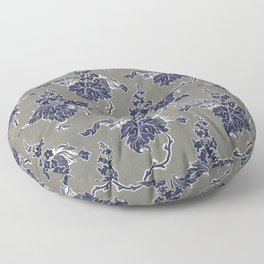 Floral pattern in high resolution (1849) Floor Pillow