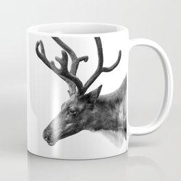 Animal Photography   Reindeer Minimalism   Antlers Christmas   Rudolf Coffee Mug