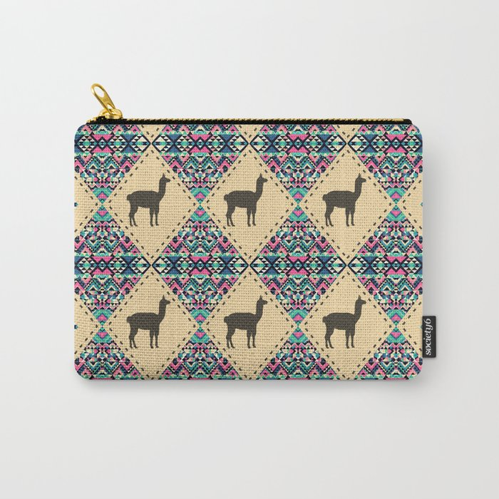 Andes pattern Carry-All Pouch