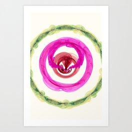 Inner Power Nebula Art Print