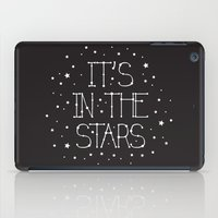 constellations iPad Cases featuring Constellations  by Estaschia Cossadianos
