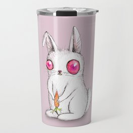 Cute funny bunny Travel Mug
