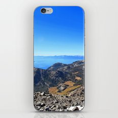 The Top of Tahoe iPhone & iPod Skin