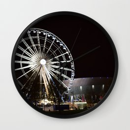 Liverpool By Night Wall Clock