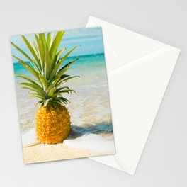 Pineapple Beach Stationery Cards
