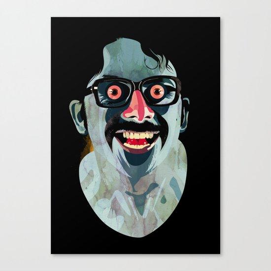 Portrait of Alonso Quijada Canvas Print