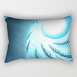 Aloft - Forest Totems Rectangular Pillow