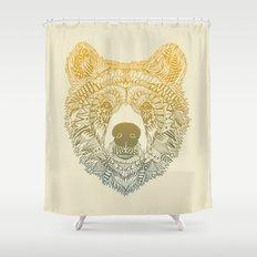 Bear (Savage) Shower Curtain