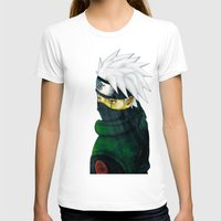 kakashi T-shirts featuring Great Talent by BradixArt