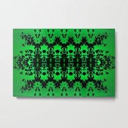 St Patrick's Lights (green) Metal Print