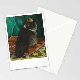 DONETE, A FANCY CHOCOLATE PERSIAN CAT Stationery Cards