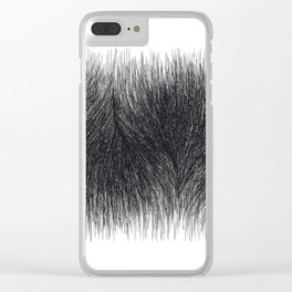 P E L T (long) 1 /// Original Abstract Minimalist Geometric Clear iPhone Case
