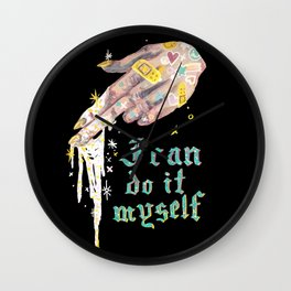 I can do it myself Wall Clock