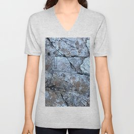 Granite Stone (Red) Unisex V-Neck