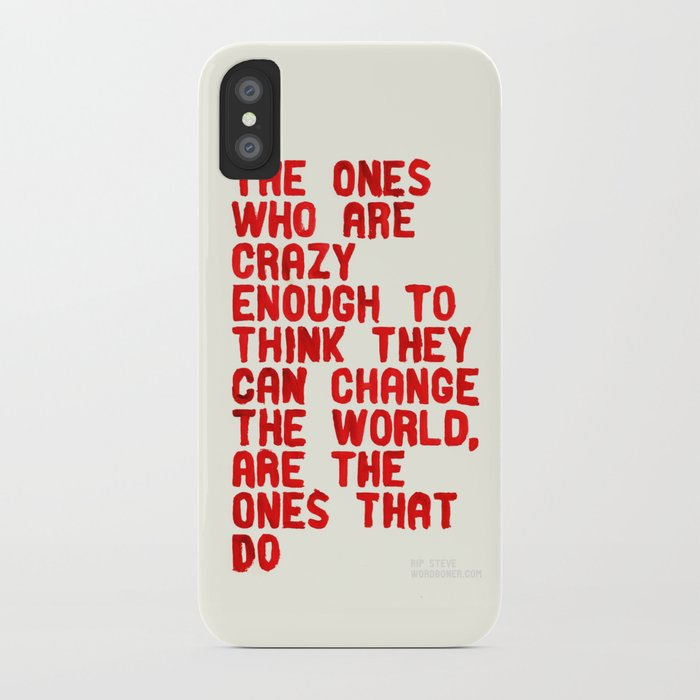 The Crazy Ones iPhone Case