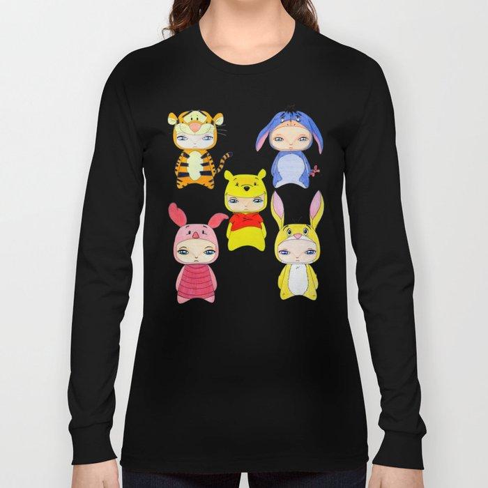 A Boy - Winnie and friends Long Sleeve T-shirt