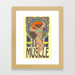 Beauty of Muscles No.1 Framed Art Print