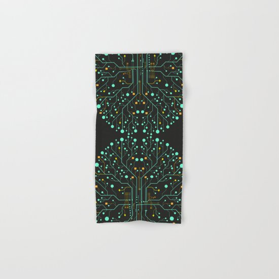 Brain Tech Hand & Bath Towel