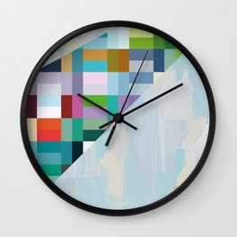 behind the scene Wall Clock