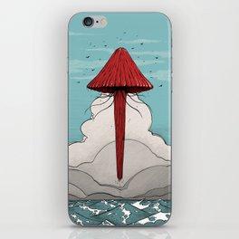 Méduse volante #5 iPhone Skin