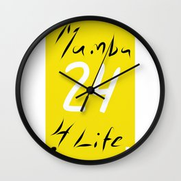 Mamba 4 Life Wall Clock