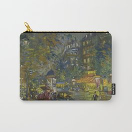 Evening in Paris, City of Lights French landscape painting by Konstantin Korovin Carry-All Pouch