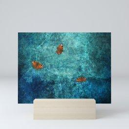 Flutter by Mini Art Print