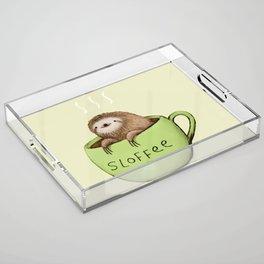 Sloffee Acrylic Tray