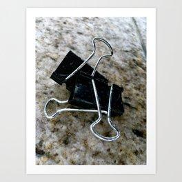 Varicose Attachments. Art Print