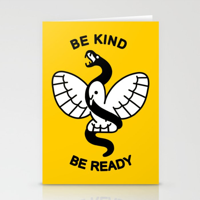 Be Kind, Be Ready Stationery Cards