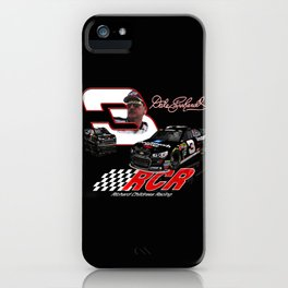 Honoring #DaleEarnhardt #NASCAR by Scott Bates iPhone Case