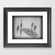 The Curious Case Of Rosemary Framed Art Print