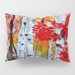 Birch Trees in Fall Pillow Sham