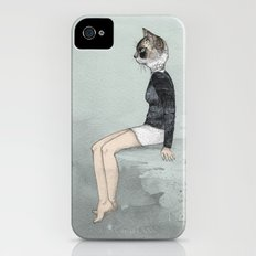 Cat Woman iPhone (4, 4s) Slim Case