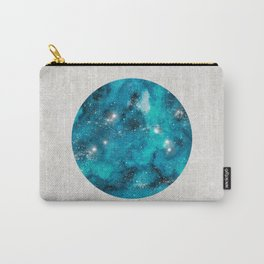 Aries zodiac constellation on the light background Carry-All Pouch