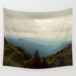 THE LIGHT THROUGH THE CLOUDS Wall Tapestry